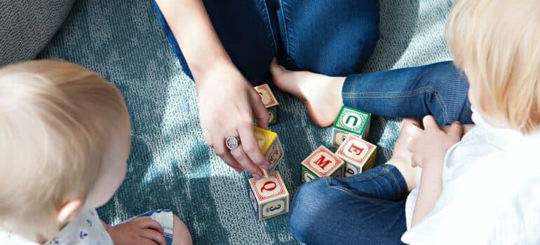 kombi selidbe najbolji izbor za ljude s decom i igračkama