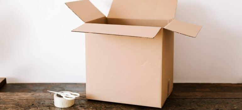 kartonska kutija za pakovanje za selidbe