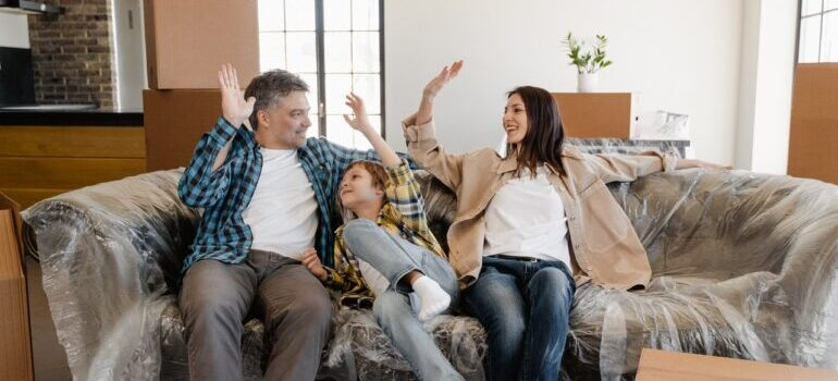 Porodica nakon preseljenja