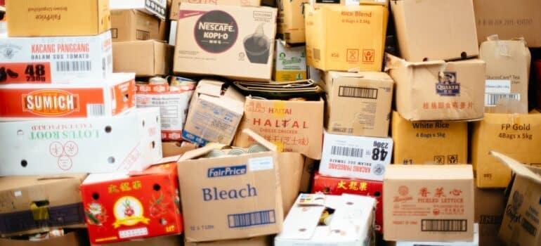 Kutije iz prodavnice