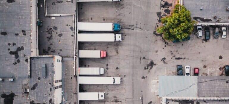 Parking kamiona