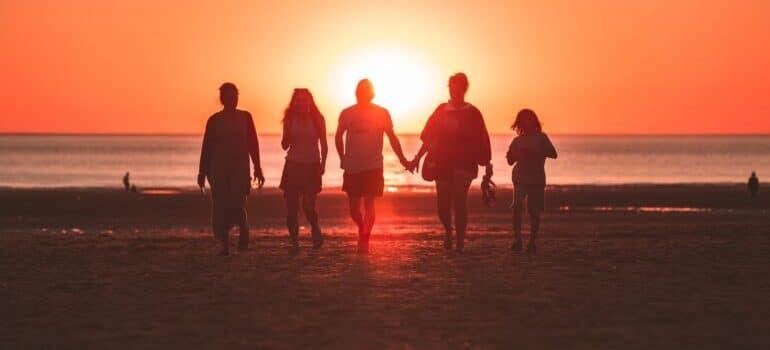 Porodica na moru