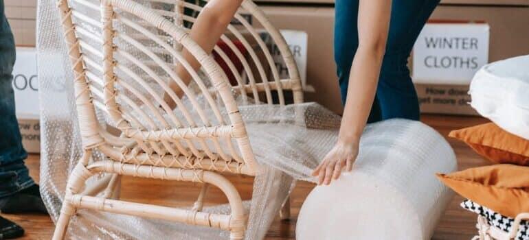 Pakovanje stolice