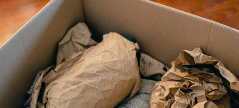 Kutija za pakovanje za selidbe Novi Sad
