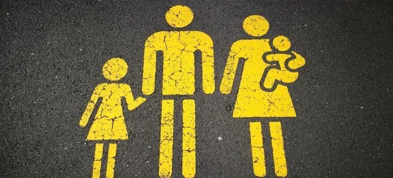 Znak porodica sa decom