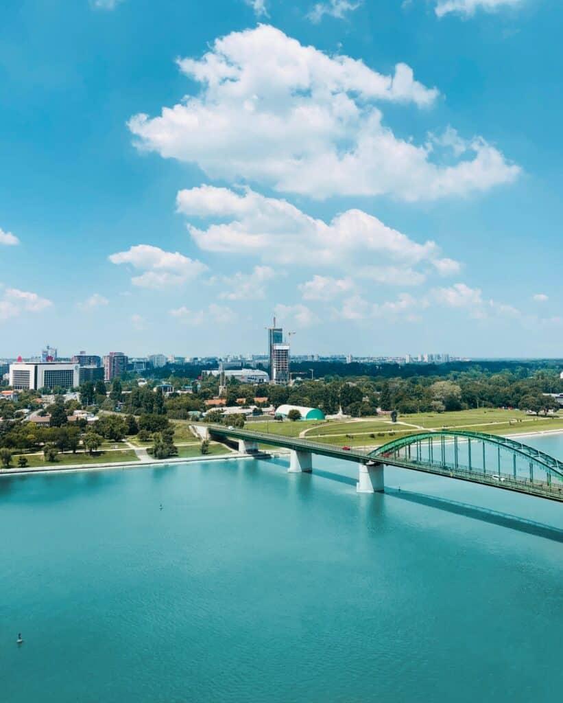 Pogled sa Kalemegdana kao jedna od stvari koje treba da uradite kada se preselite za Beograd